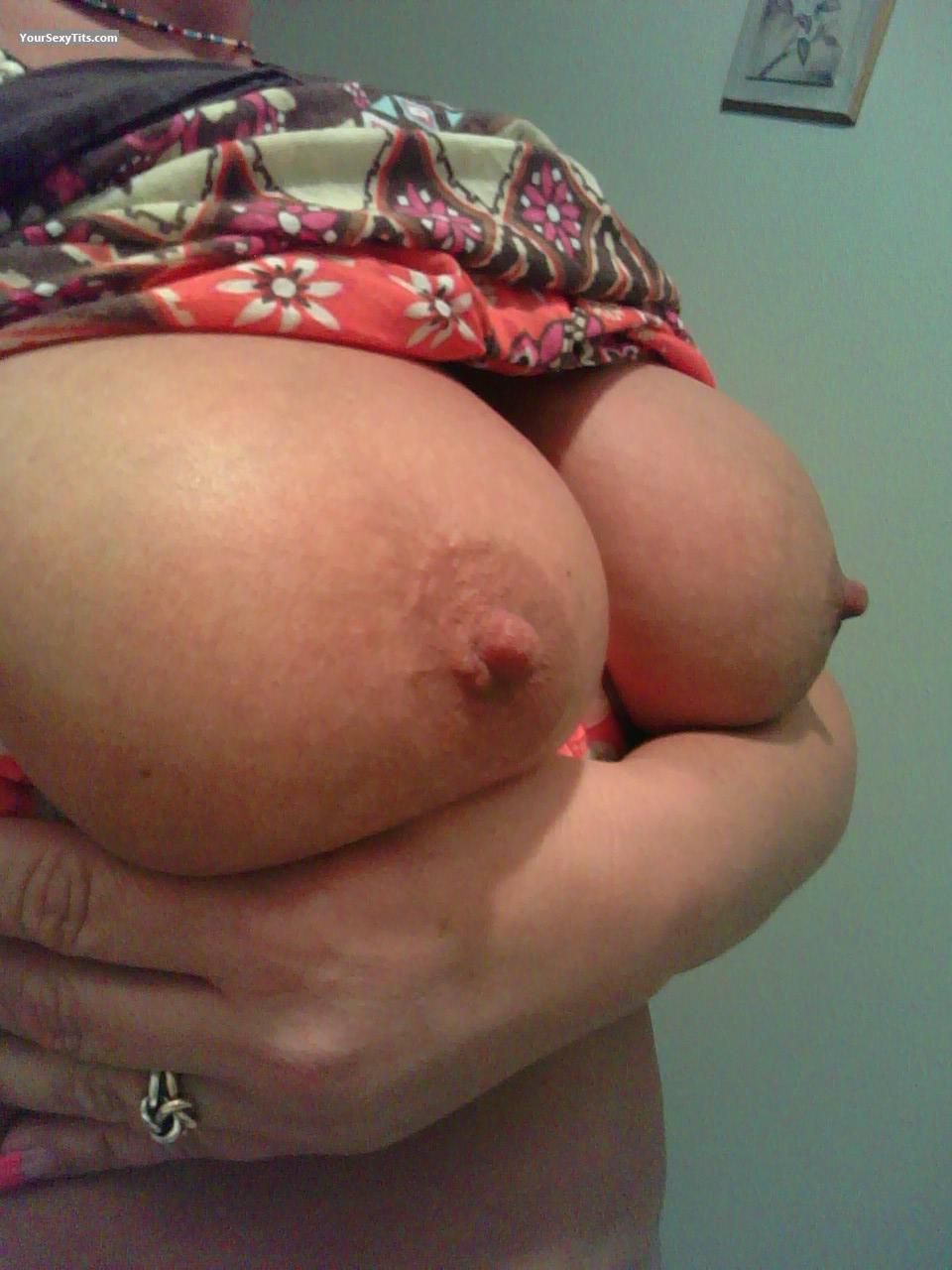 Tit Flash: Big Tits - Missy from United States