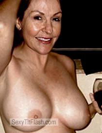 Tit Flash: My Big Tits - Topless Sexy PatsyBaby from United States