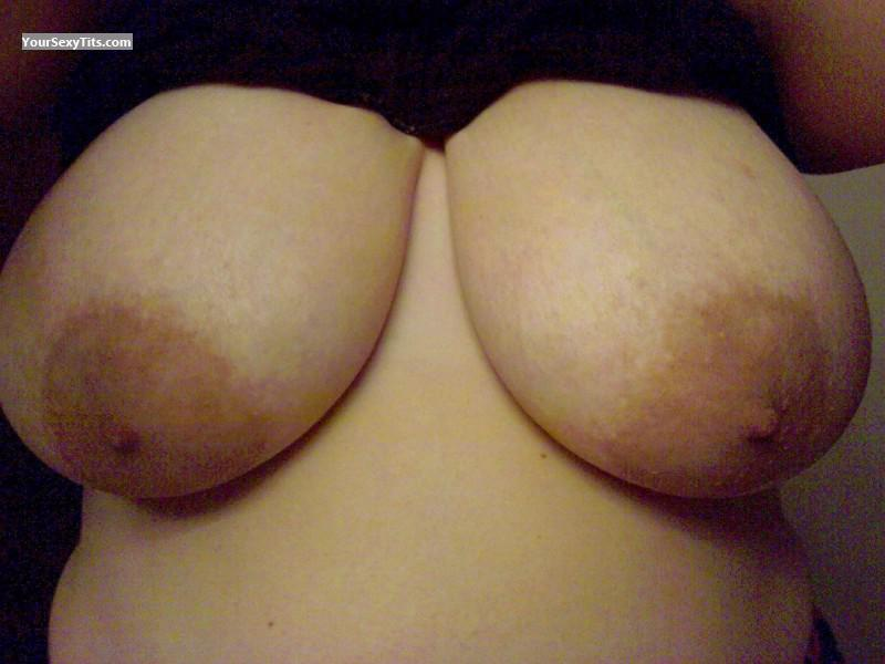Big Tits Of My Wife Selfie by 25yr Tits