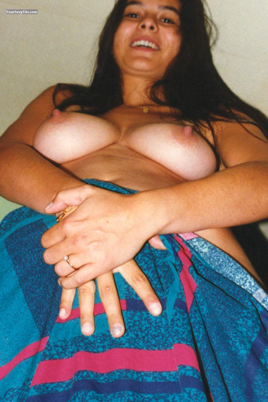 Tit Flash: My Big Tits (Selfie) - Magaboom from France