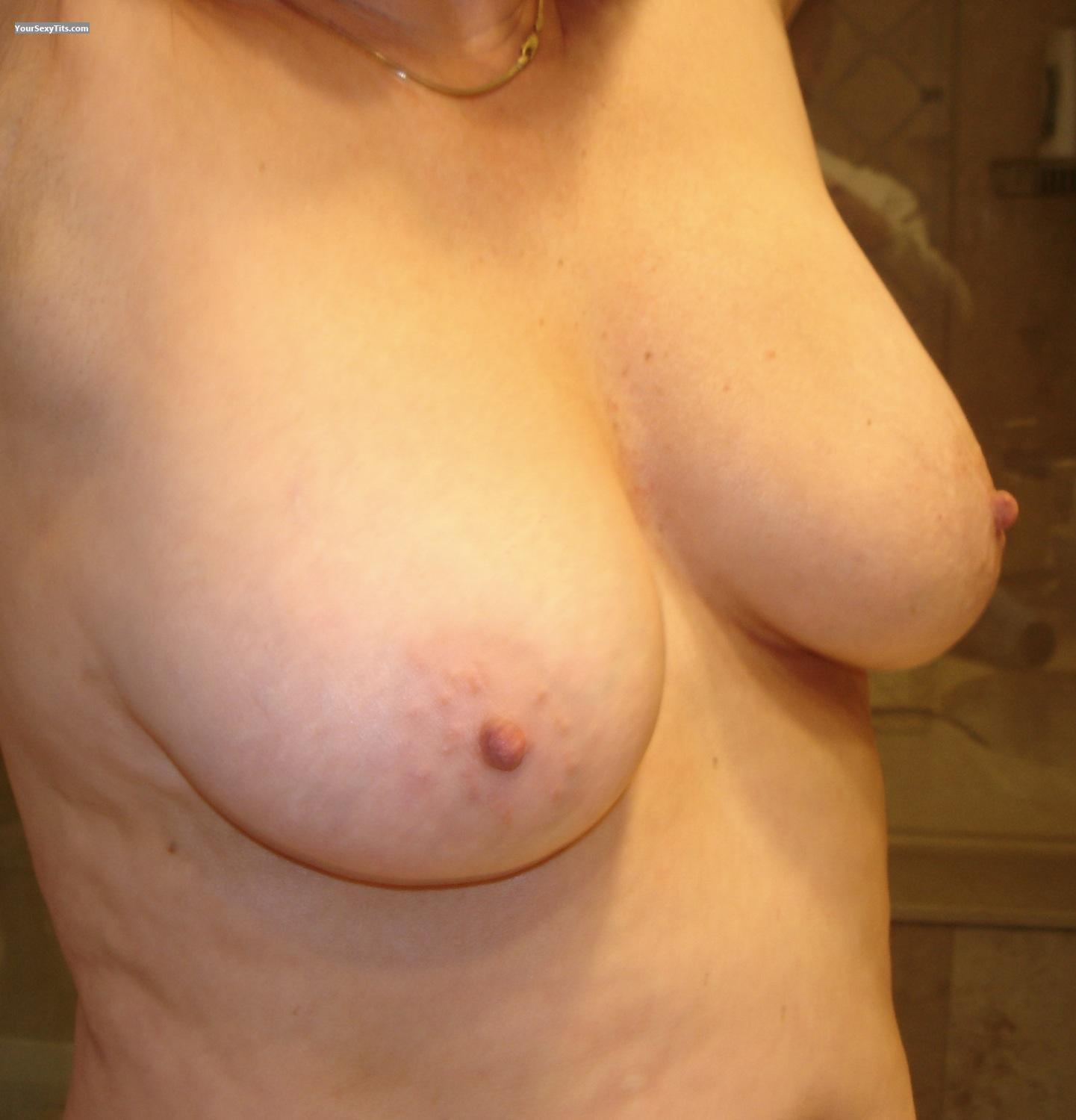 Tit Flash: Big Tits - Dees from Canada