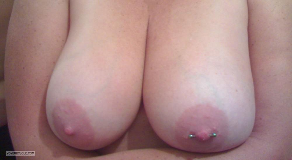 Tit Flash: Wife's Big Tits - Speck from South AfricaPierced Nipples