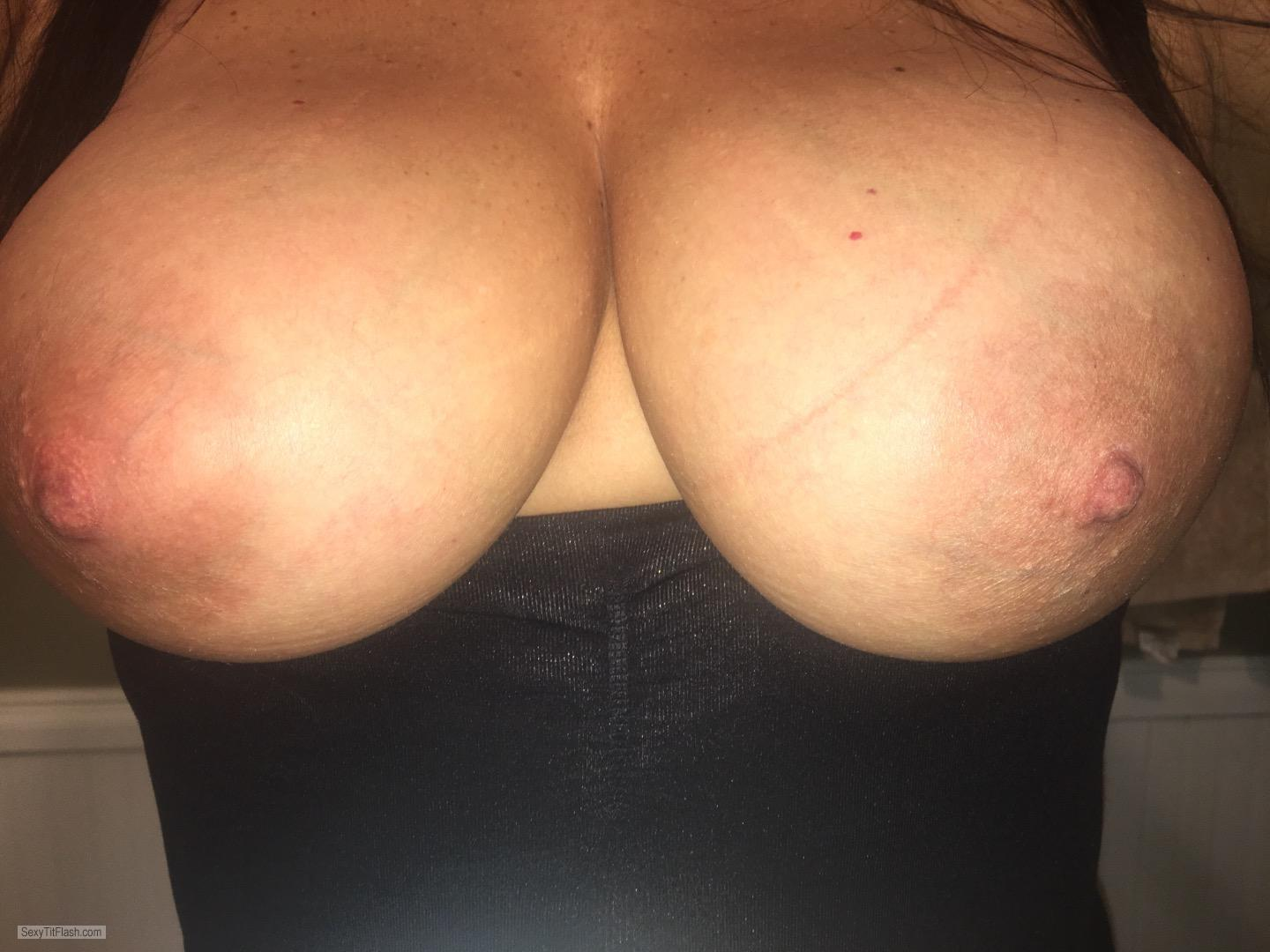 My Big Tits Topless Selfie by Shan