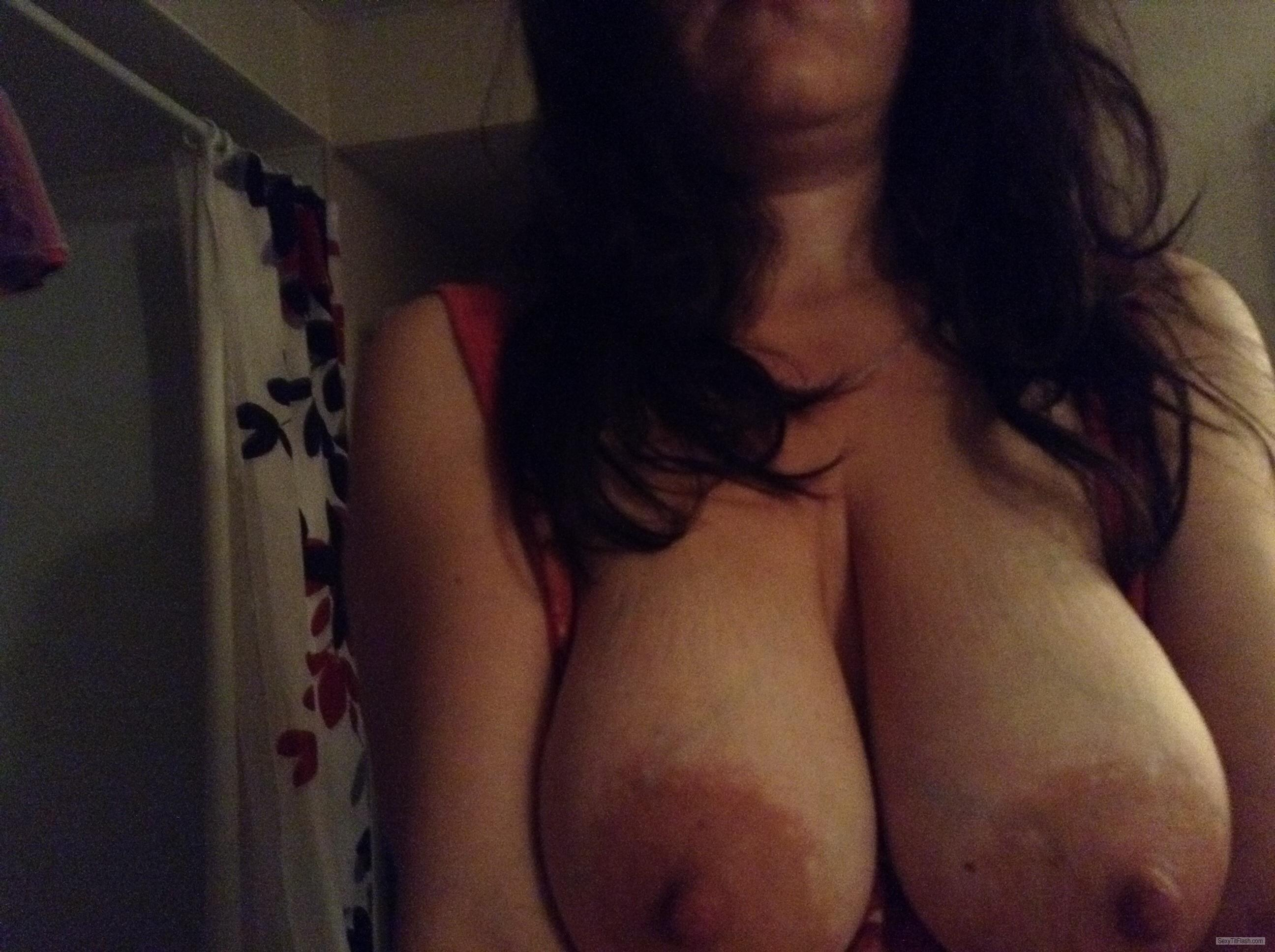 Big Tits Of My Wife Selfie by Tittymom