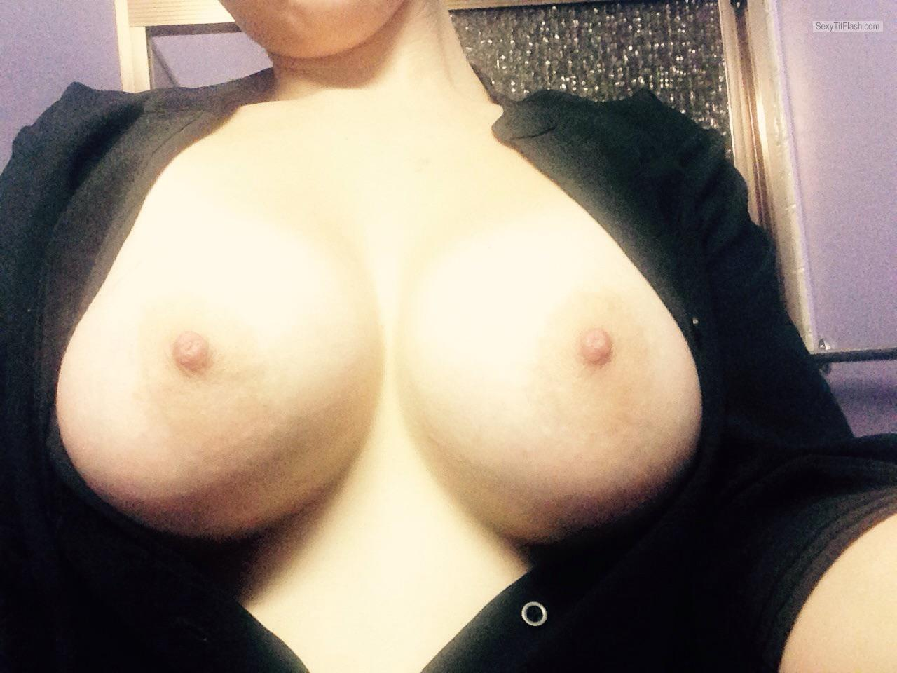 Tit Flash: My Big Tits - Anon ;-) from Australia
