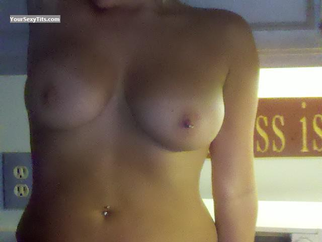 Tit Flash: My Big Tits (Selfie) - Ididtit from United StatesPierced Nipples