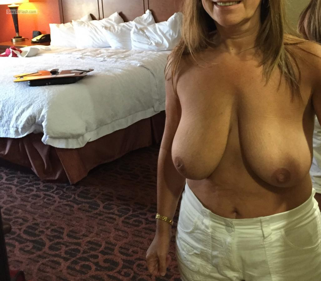 Tit Flash: My Big Tits - Candymartin from United Kingdom