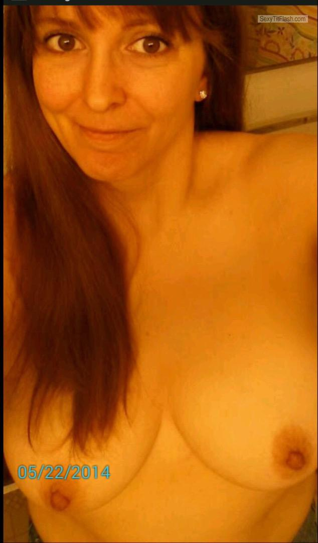 My Big Tits Topless Selfie by Tonya Lynn