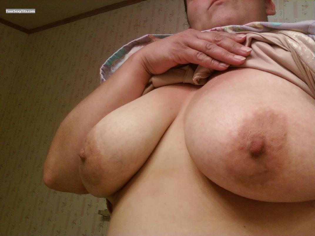 Tit Flash: My Big Tits (Selfie) - Shy Girl from United States