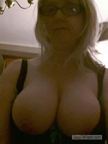 Tit Flash: My Big Tits - Topless Susan from United Kingdom