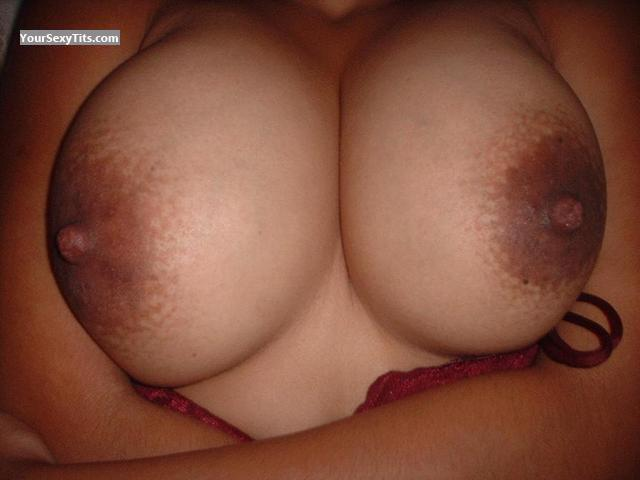 Tit Flash: Big Tits - La Amiga from Mexico