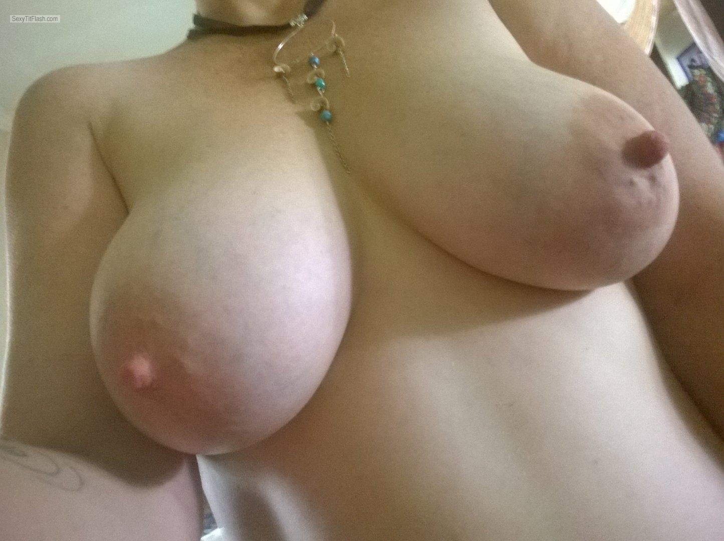 Tit Flash: My Big Tits - Cutebum from Australia