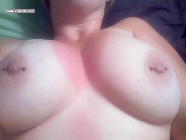 Big Tits Of My Wife Selfie by Sb