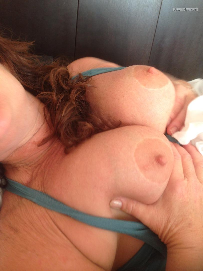 Big Tits Of My Wife Topless 53 Year Old Tits