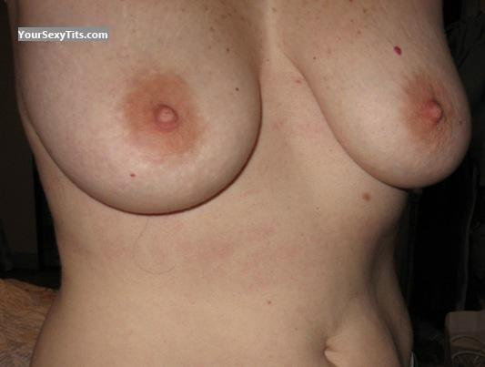 Tit Flash: My Big Tits (Selfie) - WCB from United States