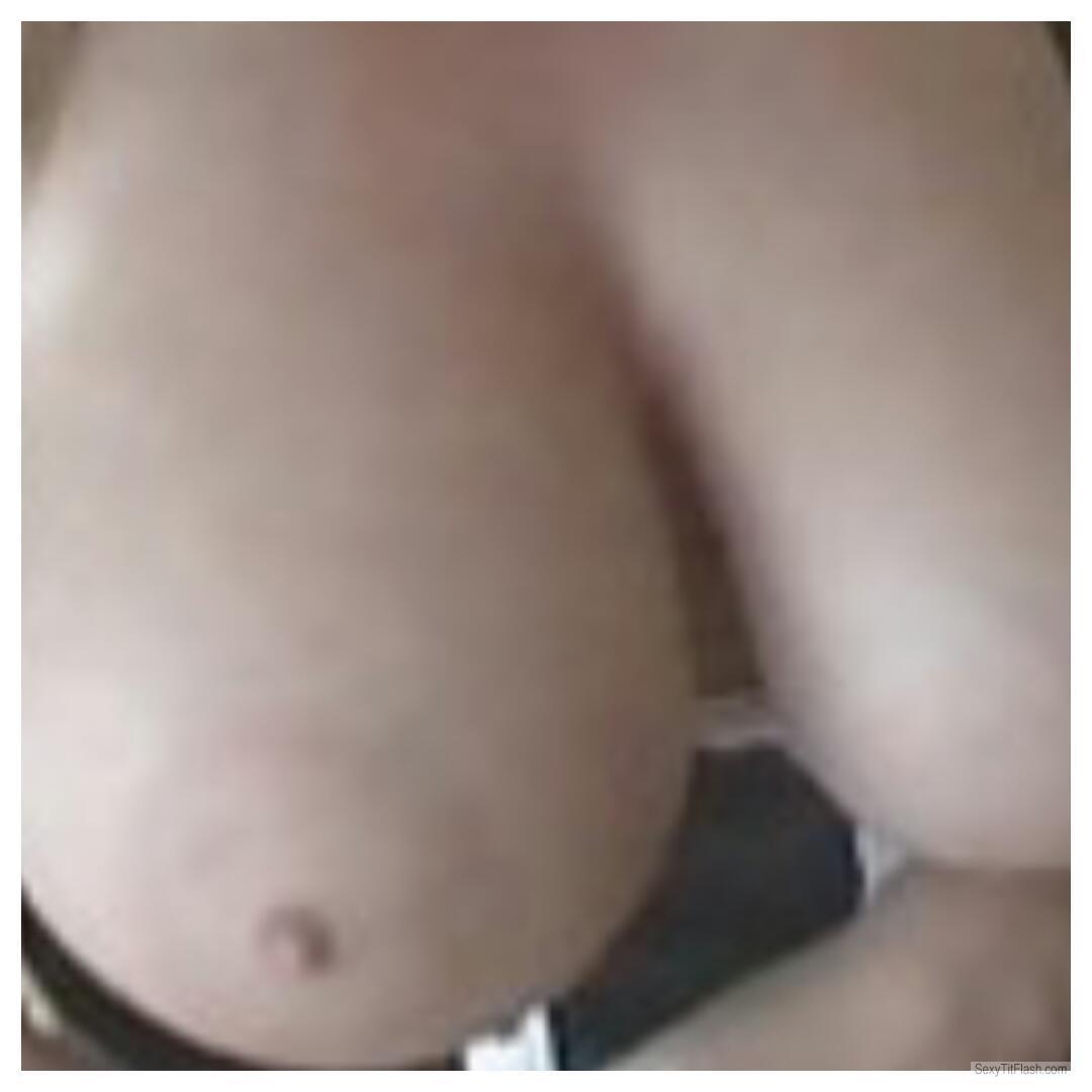 My Big Tits Selfie by Nad's Tits For Friend's B-in