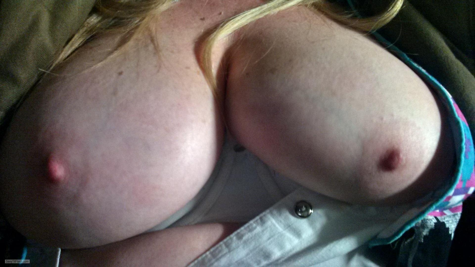 Big Tits Of My Girlfriend Selfie by Willow Girl