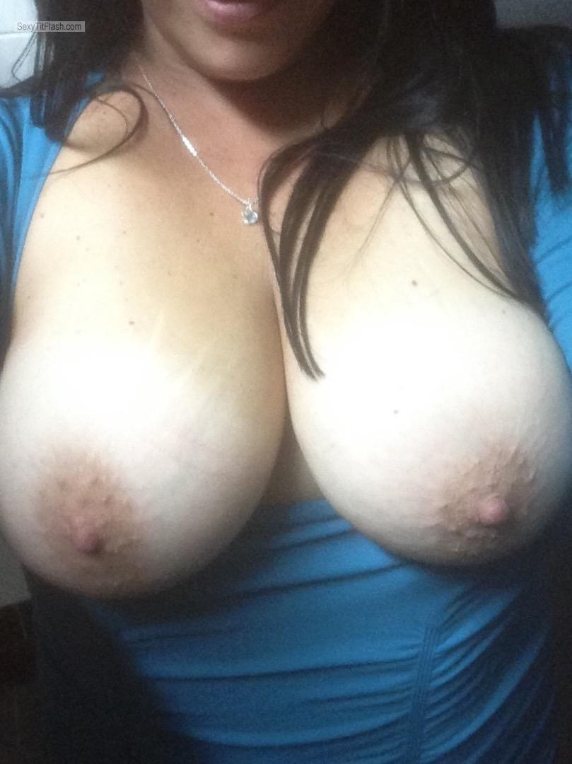 My Big Tits Selfie by Judy