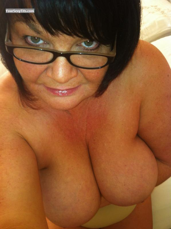 Tit Flash: My Big Tits (Selfie) - Topless Anniep from United Kingdom