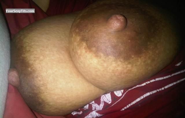 Tit Flash: Big Tits - Tisha from Canada
