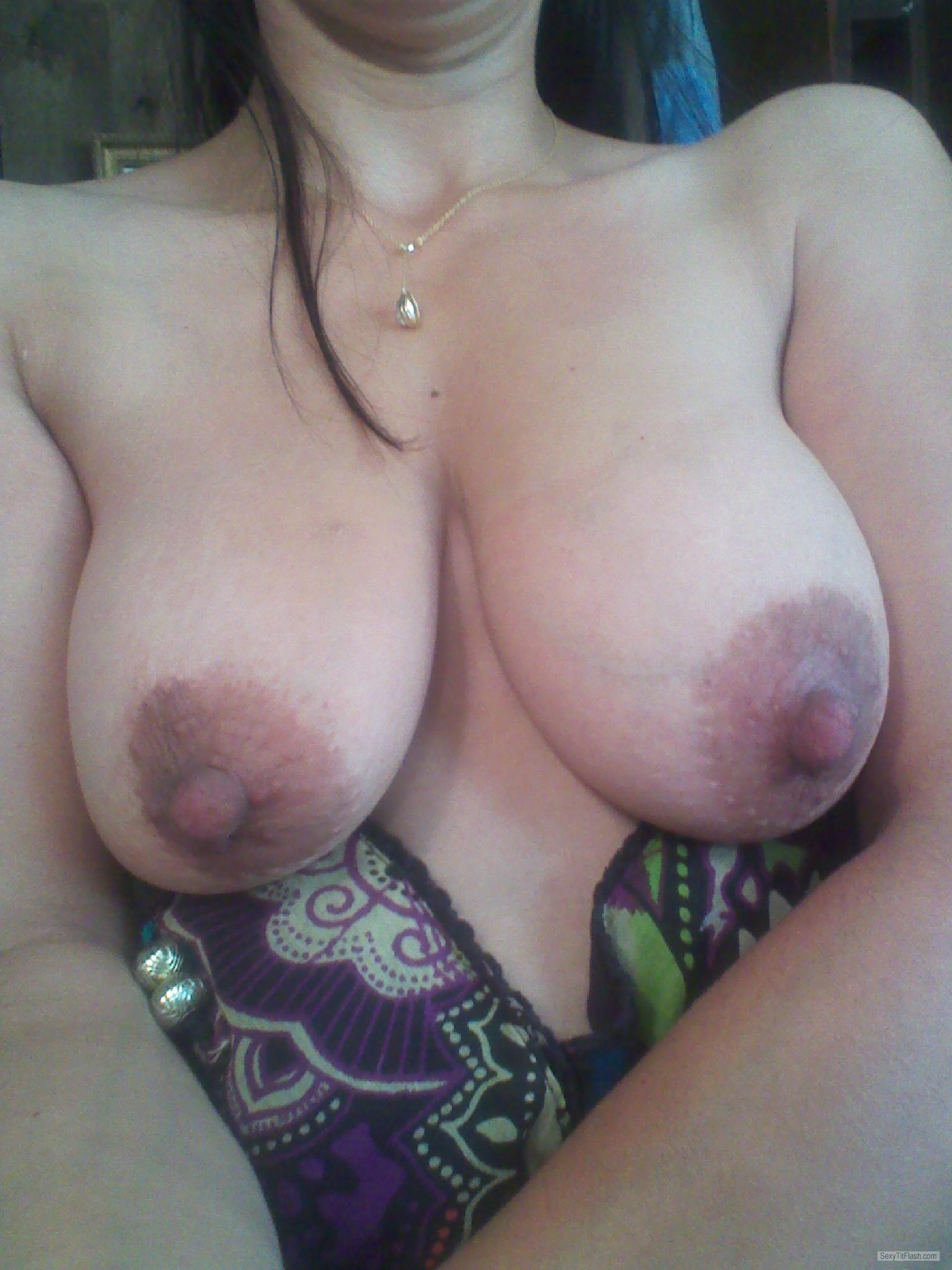 Tit Flash: My Big Tits - Stacey from United States