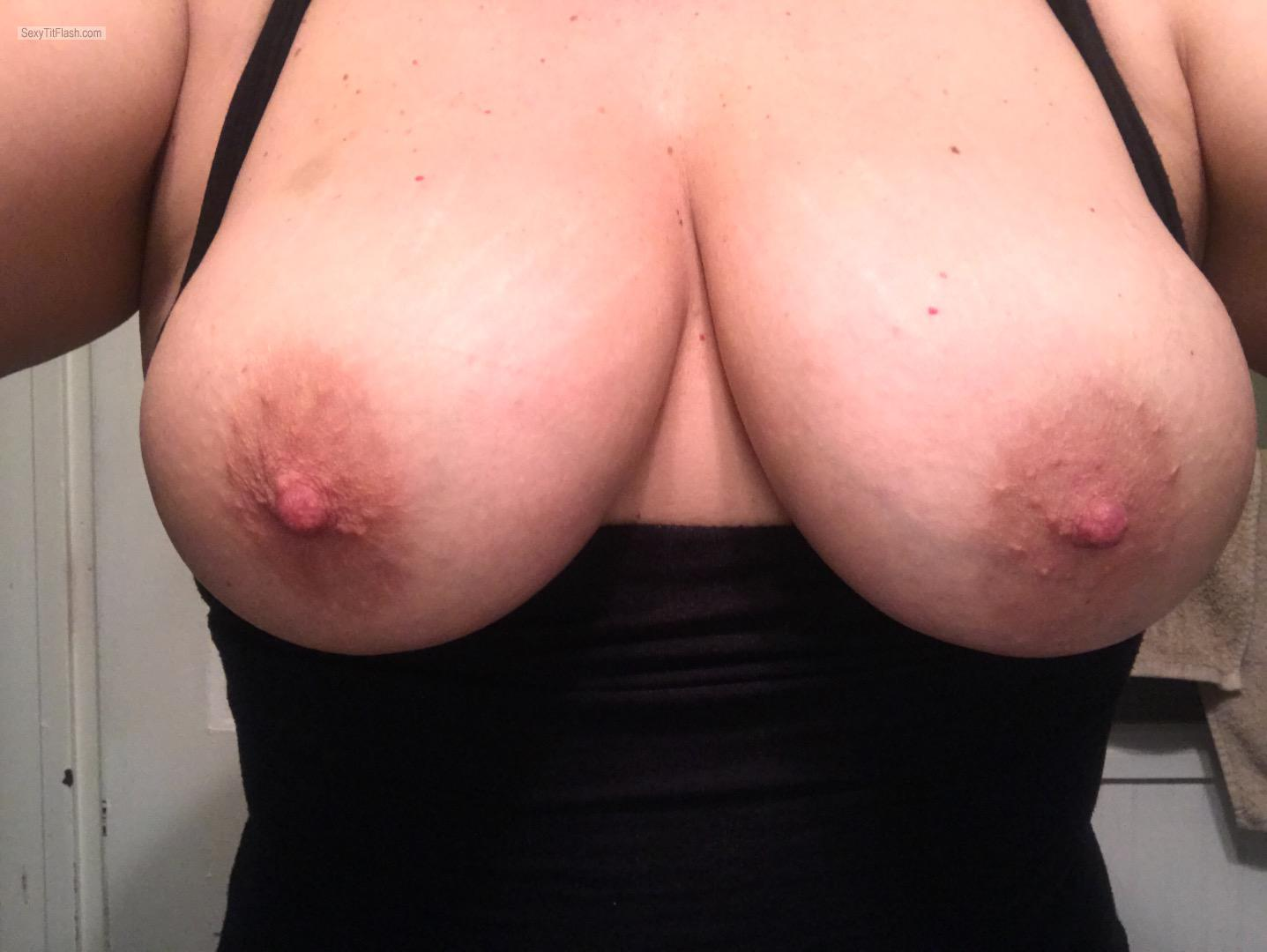 Tit Flash: My Big Tits (Selfie) - Does It Really Matter from United States