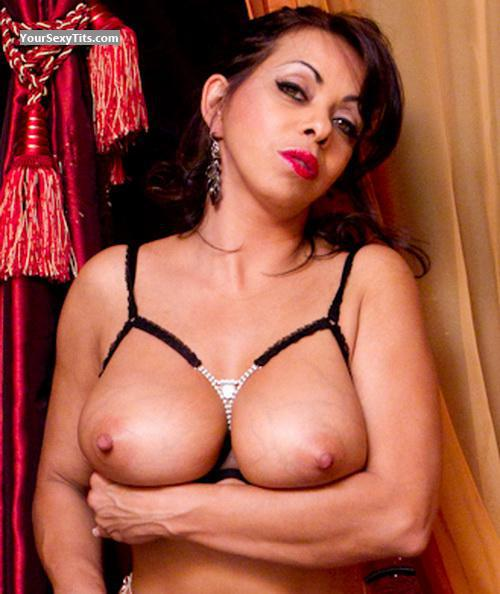 Tit Flash: Big Tits - Topless Suzy from Switzerland