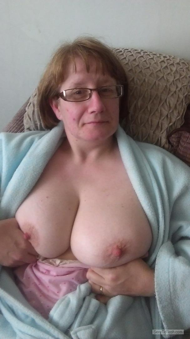 Big Tits Of My Wife Topless Selfie by Lacey