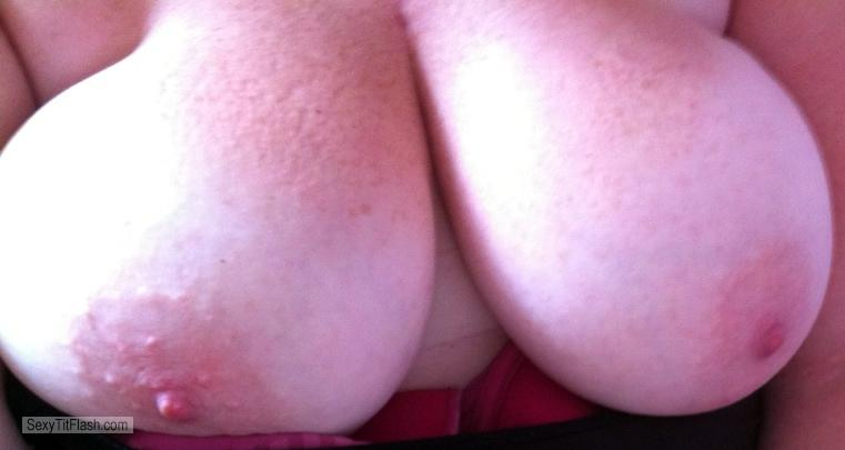 Tit Flash: My Big Tits (Selfie) - Sexybum from Australia
