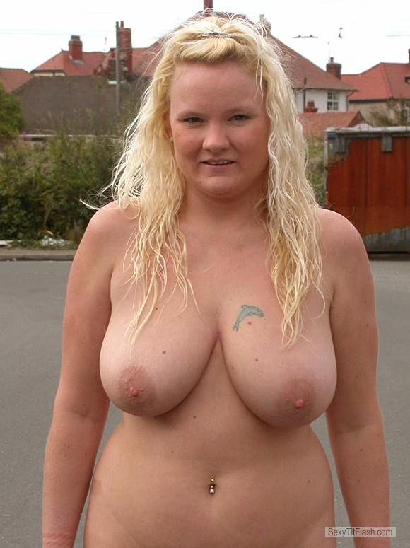 My Big Tits Topless Haley