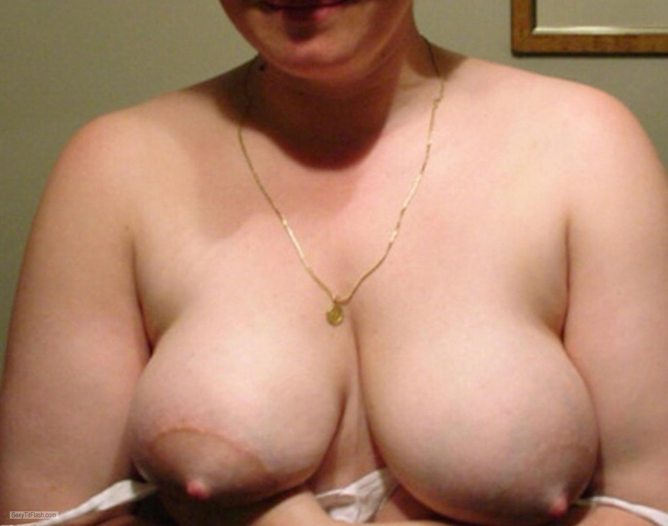 Tit Flash: My Big Tits - Susanhyz from United Kingdom