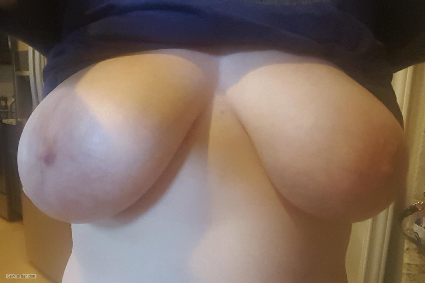 Big Tits Of My Wife Selfie by Jessica