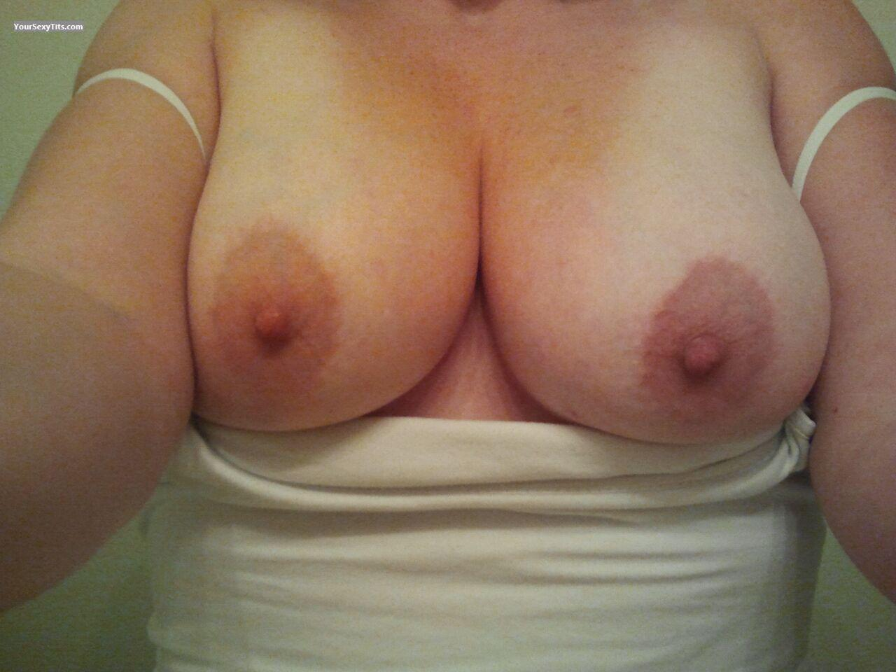 Tit Flash: My Big Tits (Selfie) - Scarlot Harlot from United States