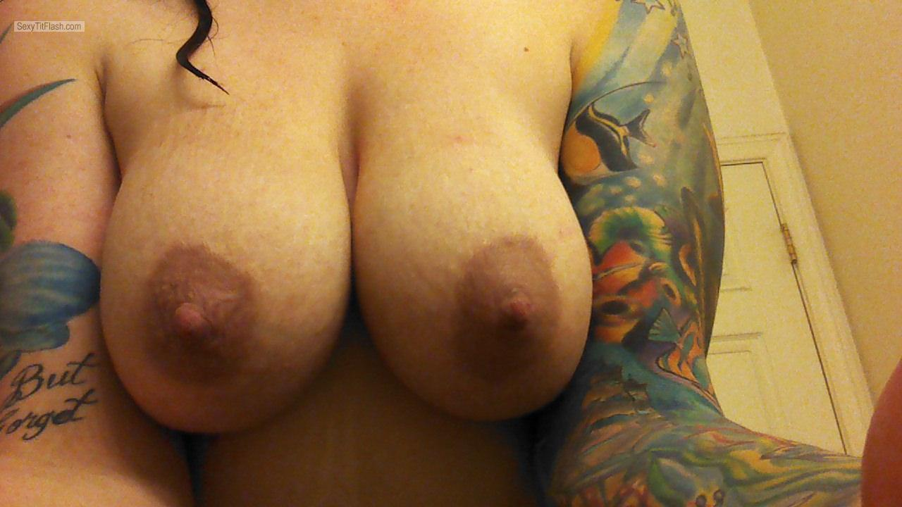 Big Tits Of My Wife Selfie by Kara Coastie
