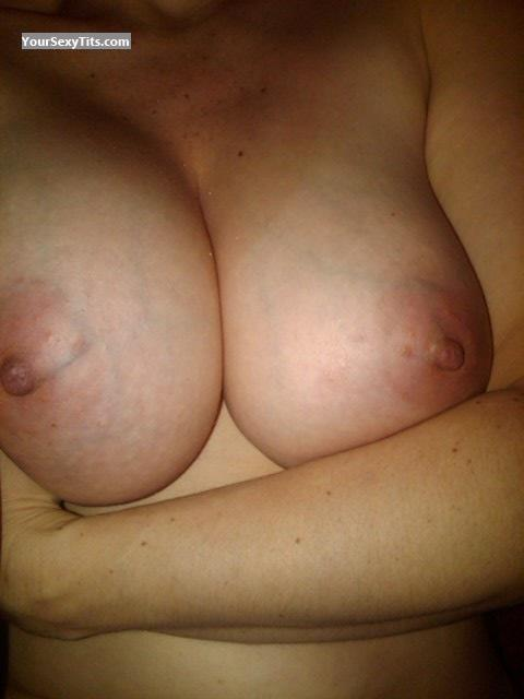 Tit Flash: My Big Tits (Selfie) - Dix from United States