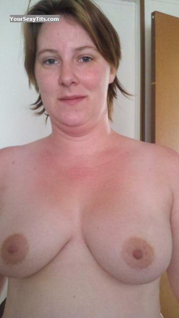 Tit Flash: Big Tits - Topless Clist Slut from United States