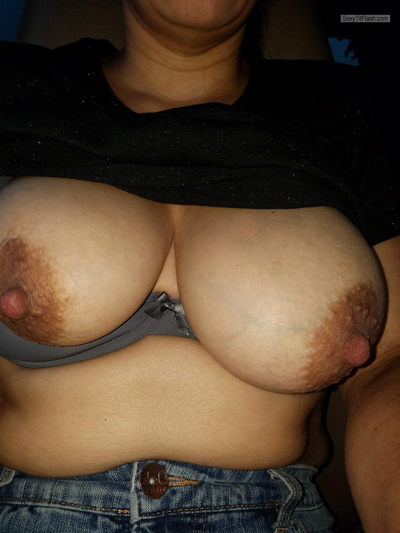 Tit Flash: My Big Tits - Roxy1976 from United States