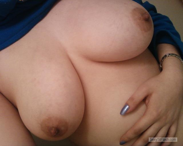 Big Tits Of My Wife Selfie by Zee