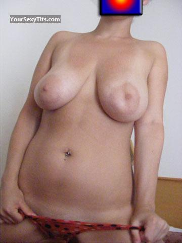 Tit Flash: Big Tits - Baby from Italy