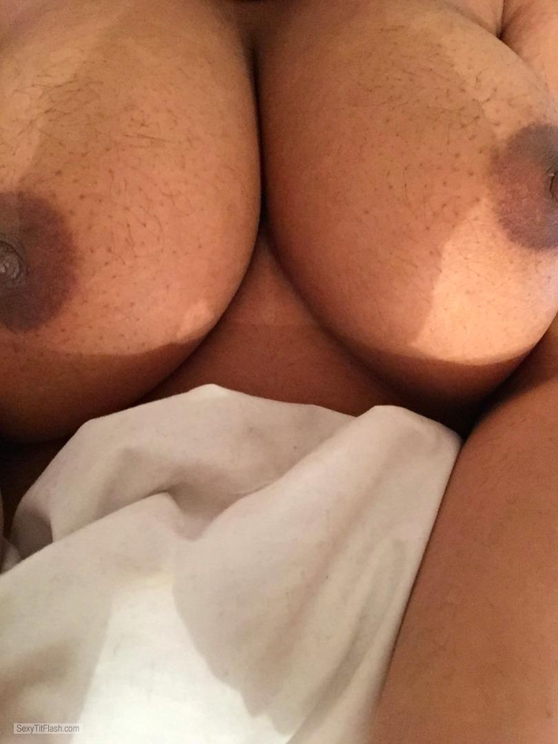Tit Flash: My Big Tits (Selfie) - Rosh from India