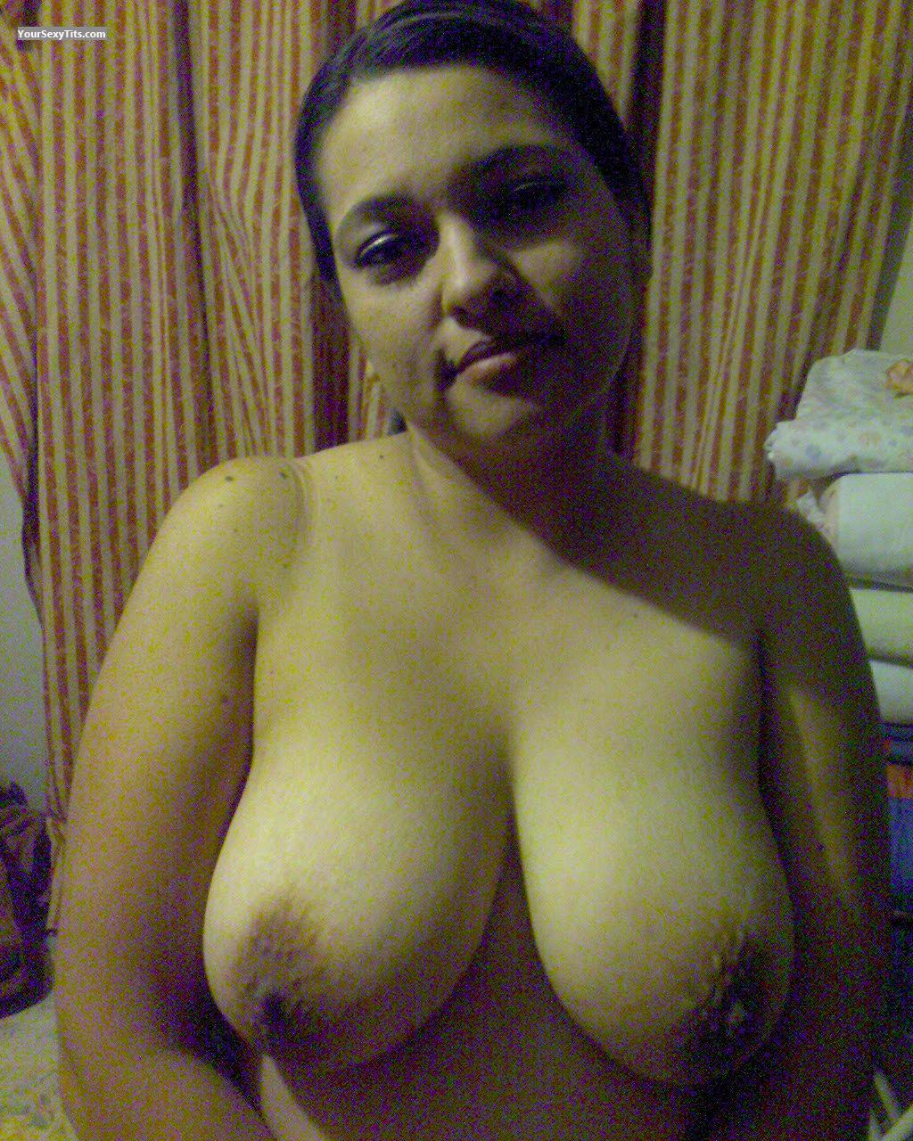 Tit Flash: Big Tits - Betty from Mexico