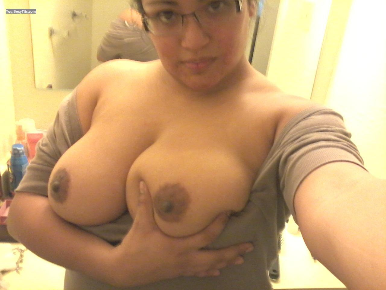 My Big Tits Topless Selfie by Lala