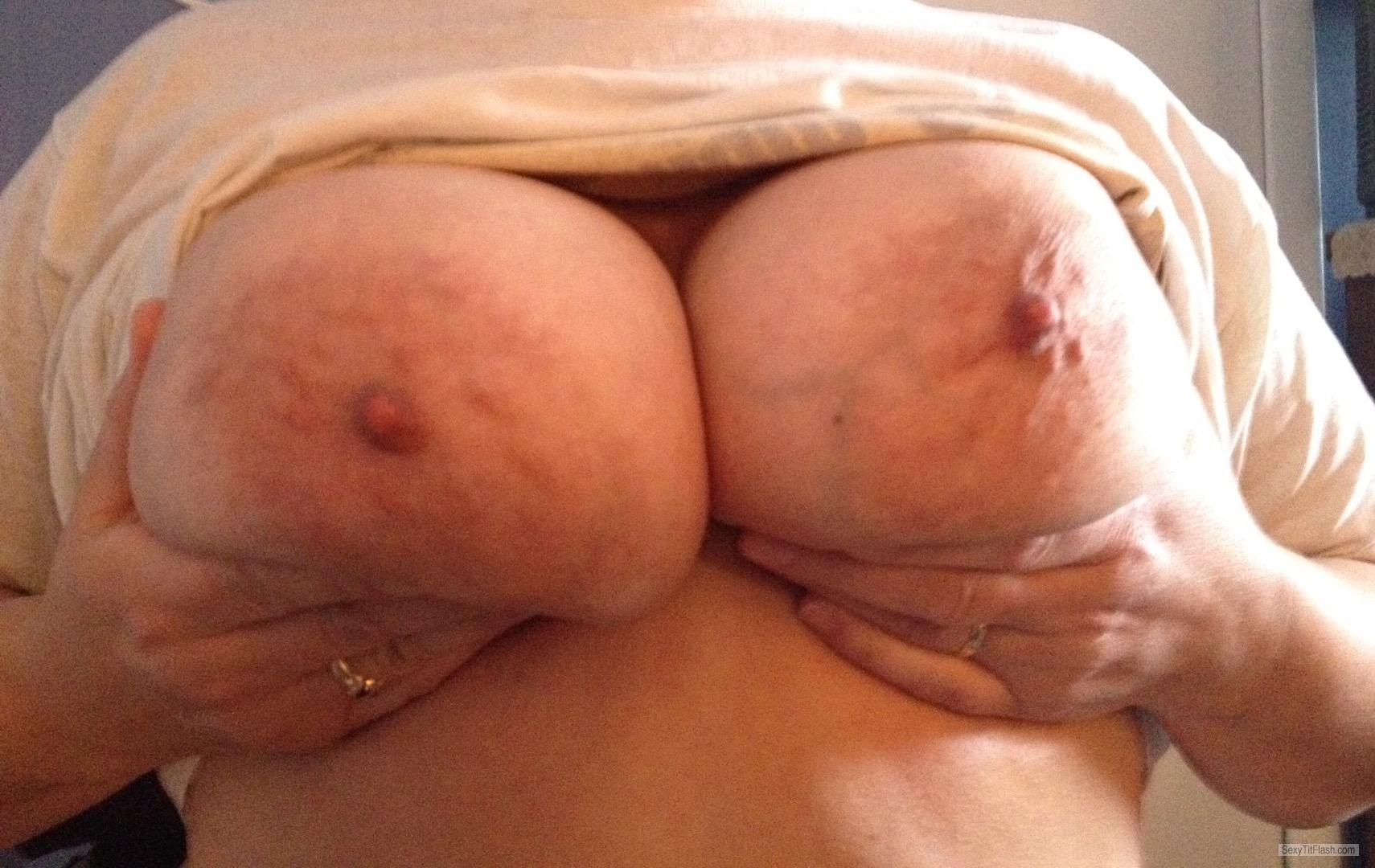 Tit Flash: My Big Tits - Mytitsforyourcock from United States