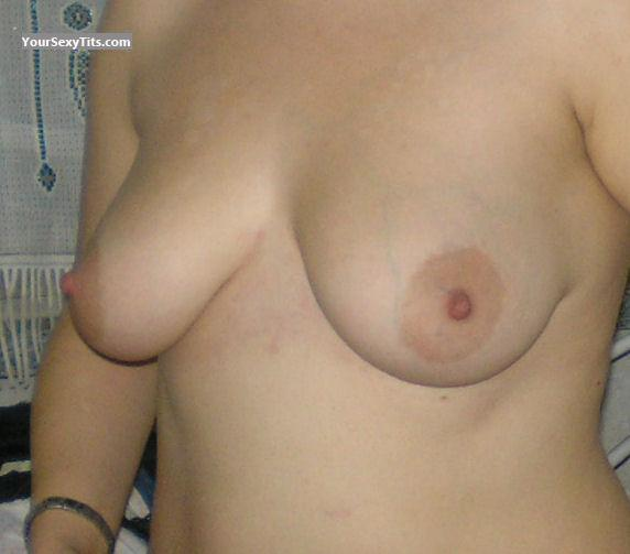 Small Tits Topless Unknown Lady