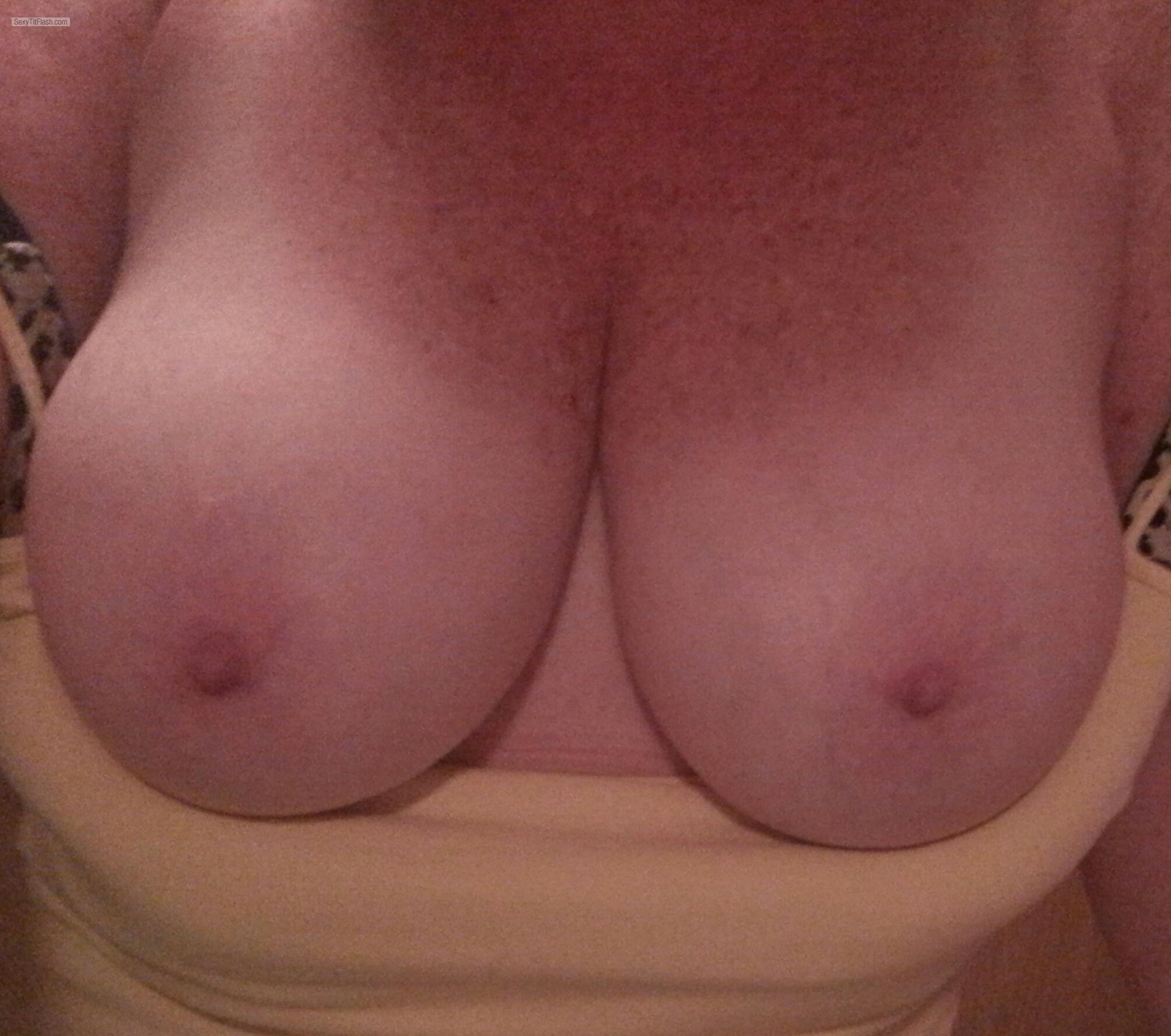 Tit Flash: My Big Tits - Angel from United States