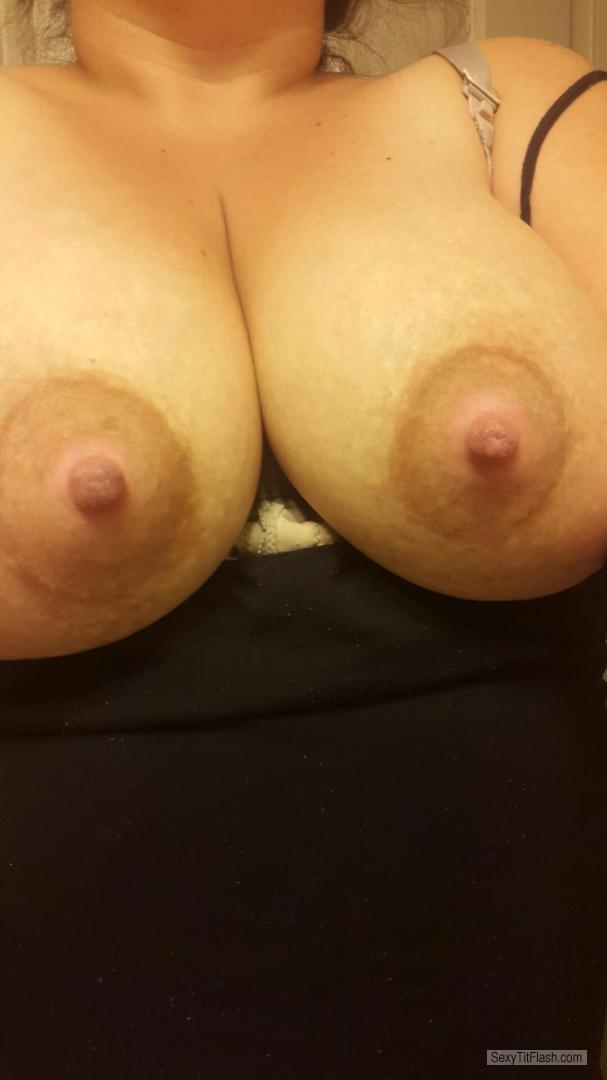 Big Tits Of My Wife Selfie by Siren