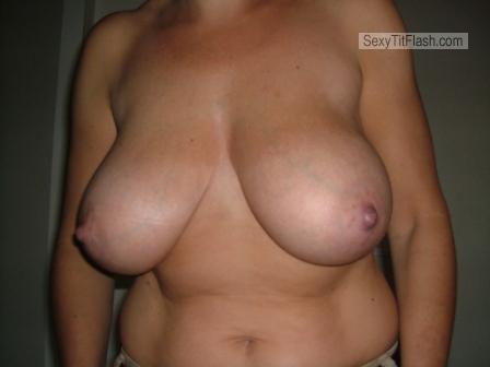 Tit Flash: My Big Tits - Try-out from Netherlands
