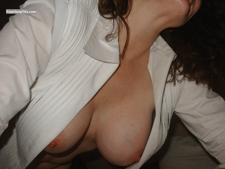 Tit Flash: Big Tits - CathyB from United States