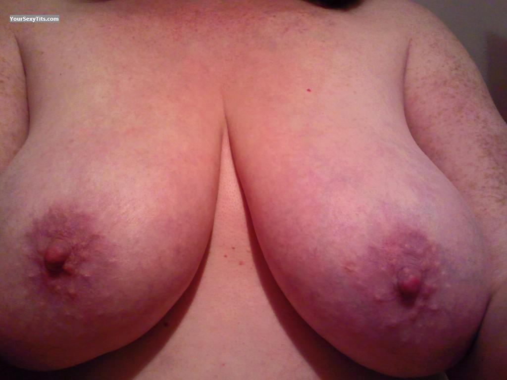Tit Flash: My Big Tits (Selfie) - Julia from United Kingdom
