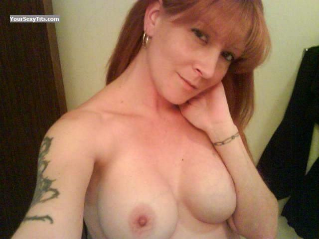 Tit Flash: Big Tits - Topless CHARLETTE from United States